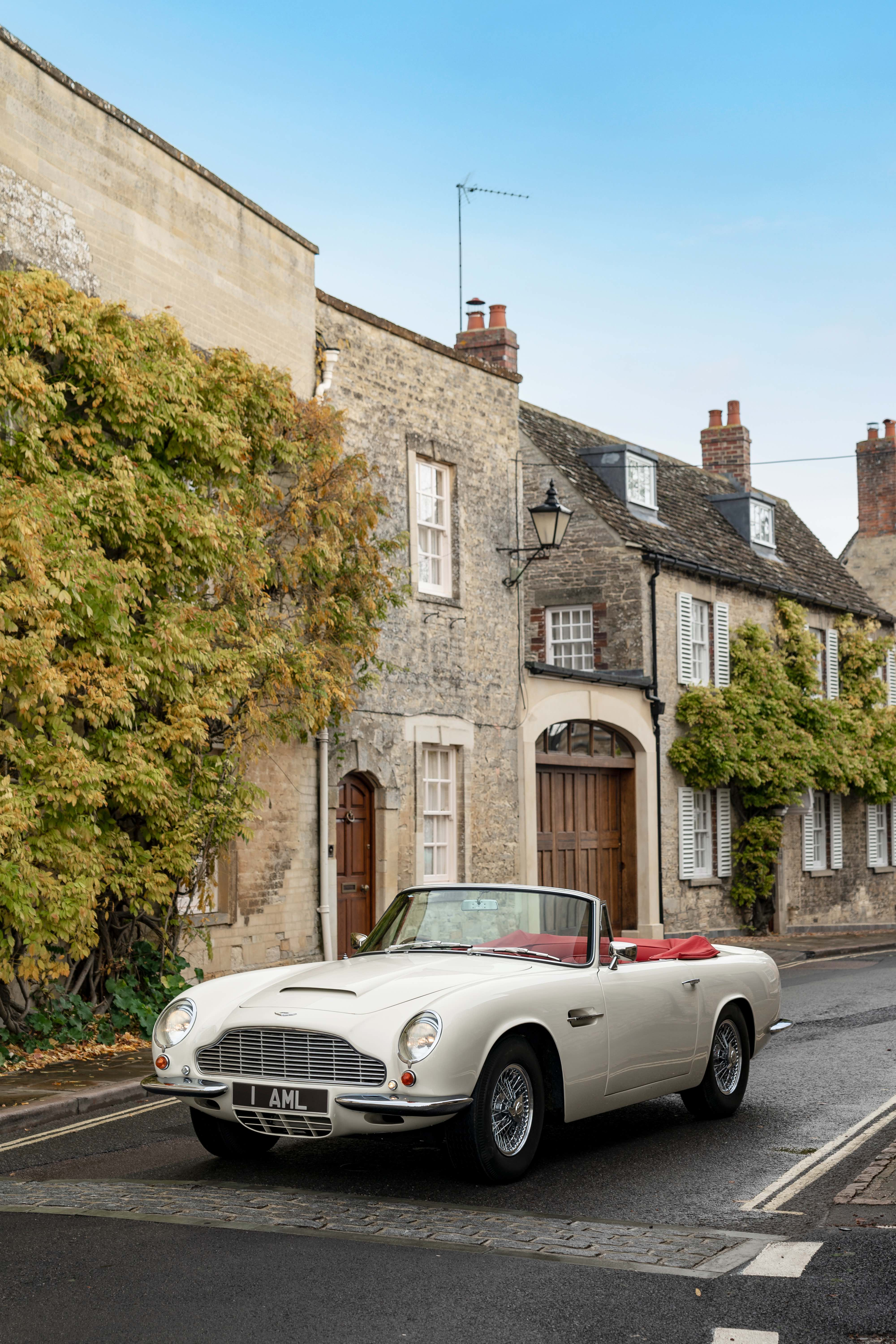 Aston Martin To Offer Electric Conversions Of Classic Cars Electrek