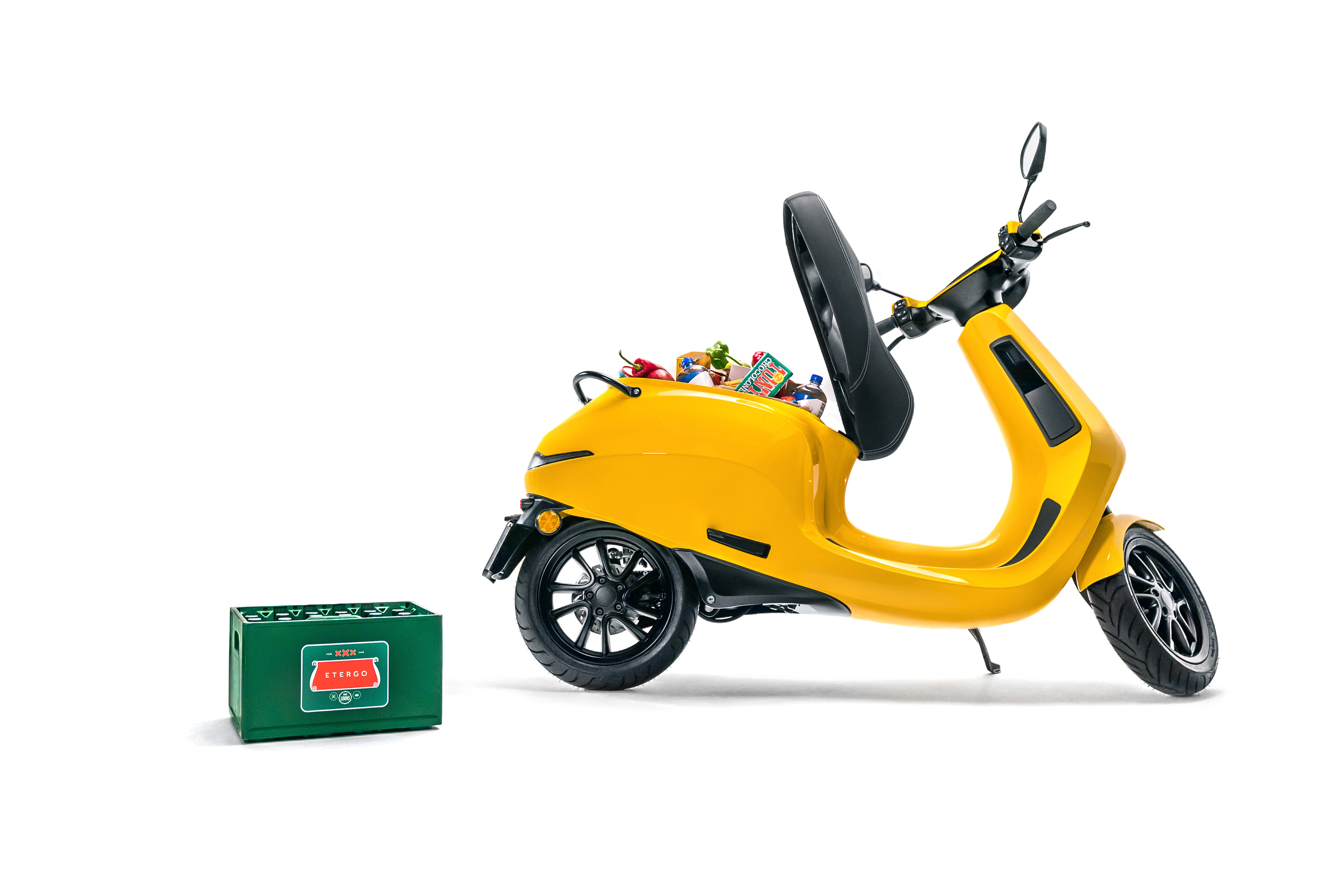 Etergo secures €10M to produce 240 km range modular battery swapping electric scooter