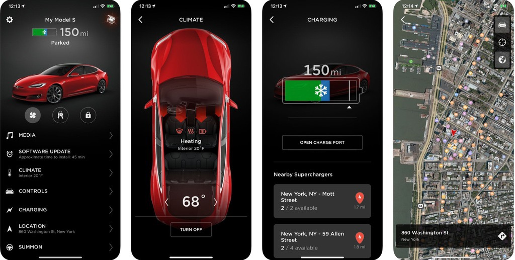 Tesla releases a mobile app update with new charging feature