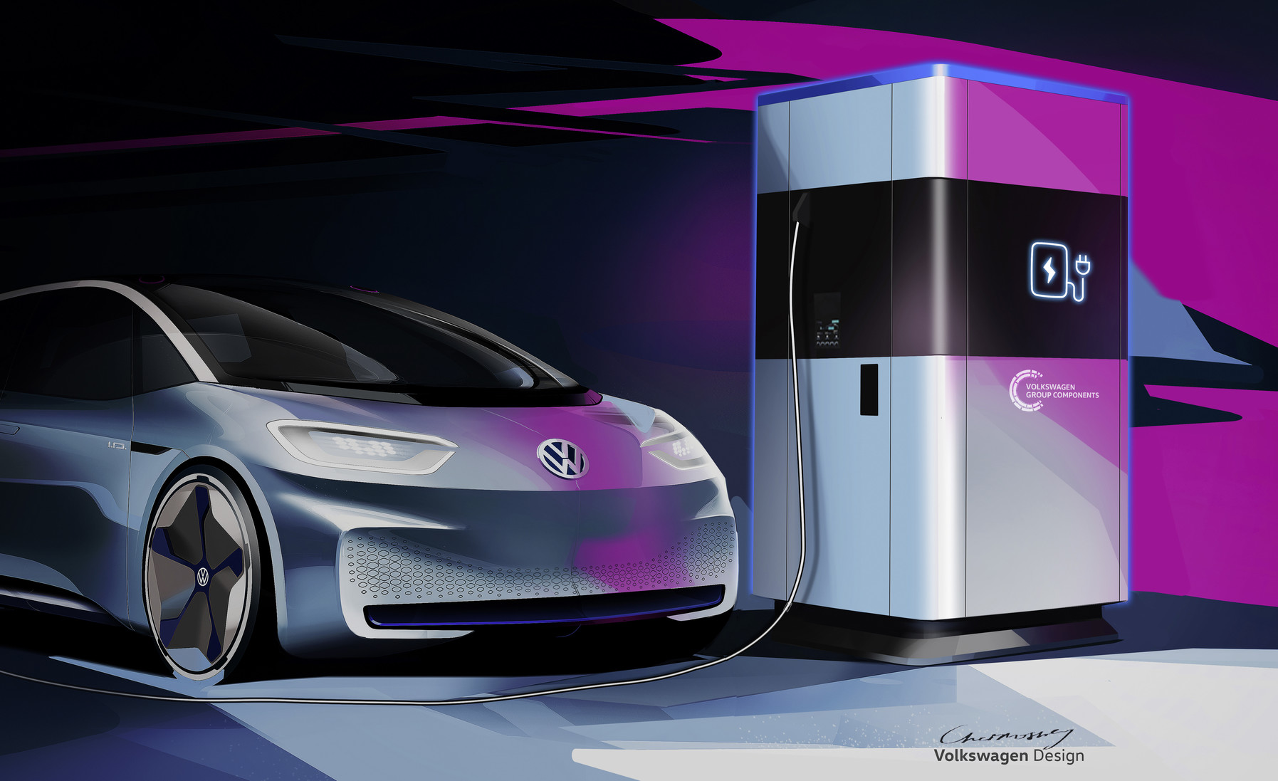 Bank For Electric Cars The Mobile Quick Charging Stati