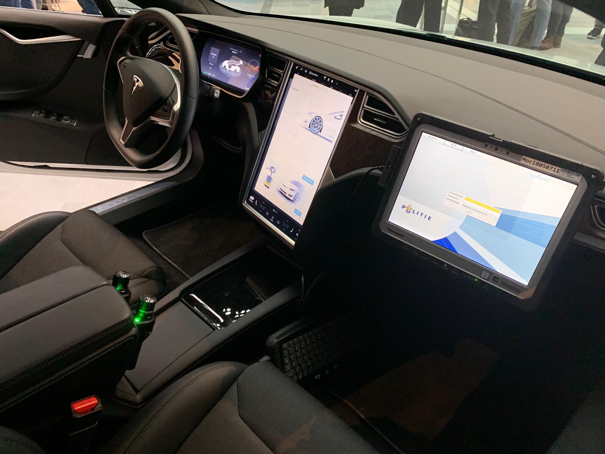Tesla Model S becomes sneaky undercover police car - Electrek