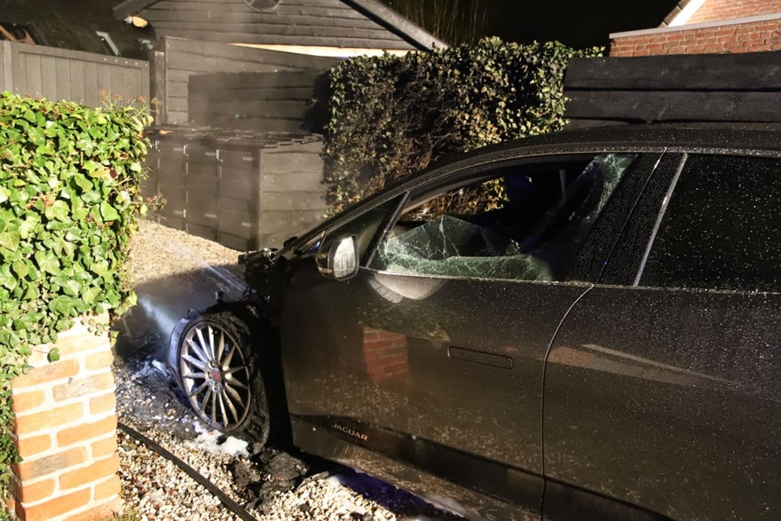 Jaguar I Pace Electric Suv Caught On Fire Automaker Is