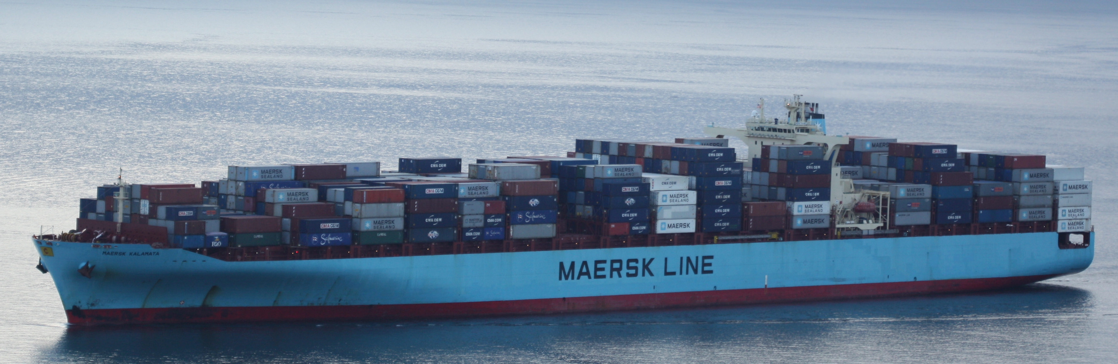 World's largest container shipping group Maersk pledges to cut all carbon emissions…by 2050