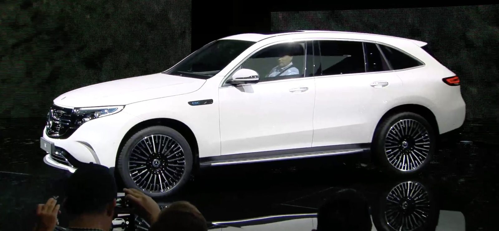 Mercedes Benz Says Its First Electric Eqc Suv Is Already