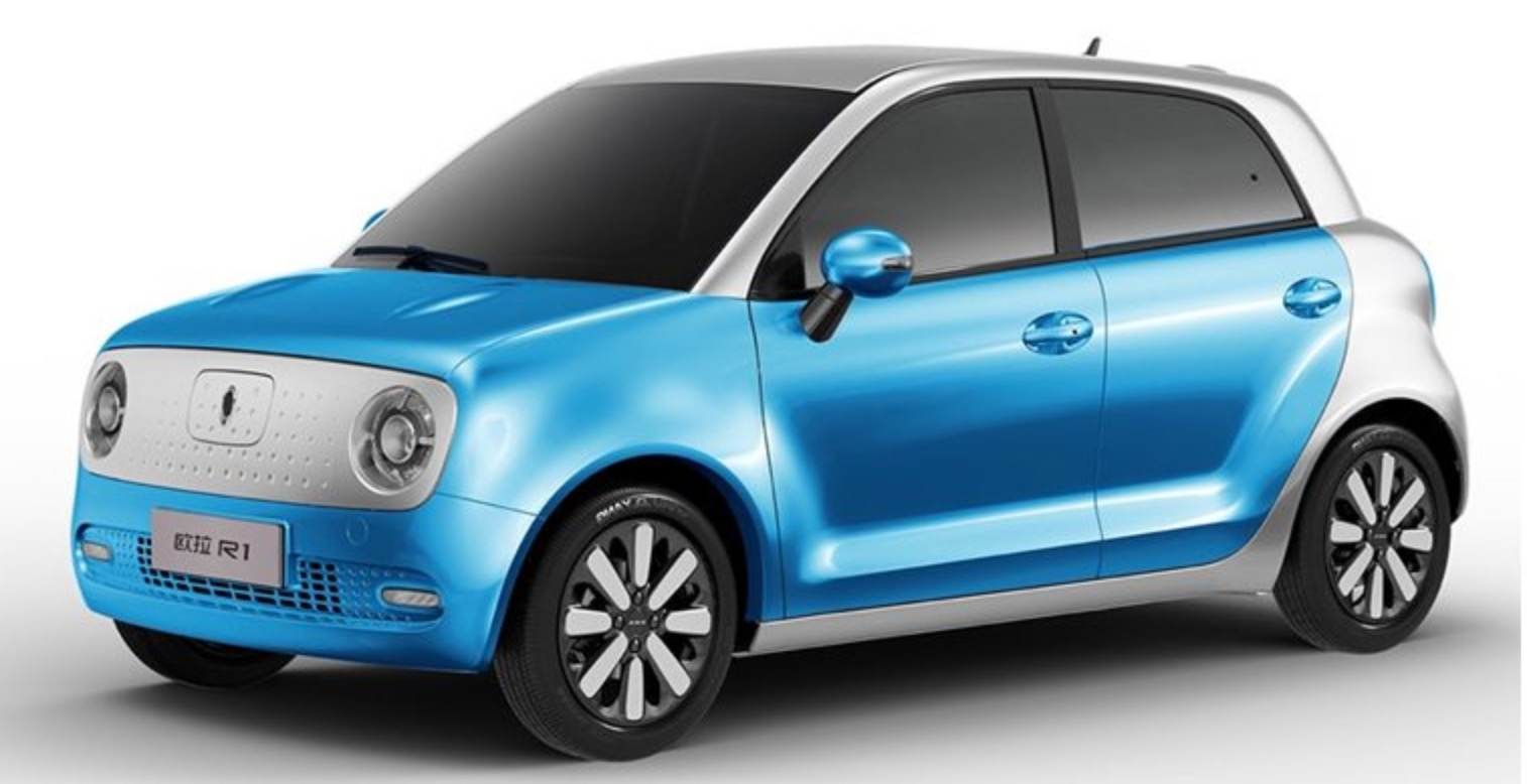 China S Great Wall Motor Unveils 8 680 All Electric Ora R1 Urban Car With Nearly 200 Mile Range