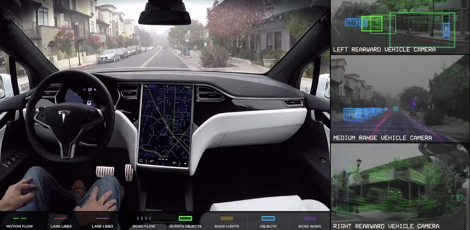photo image Tesla warns 'self-driving package' buyers that activation is 'very far away' due to regulations