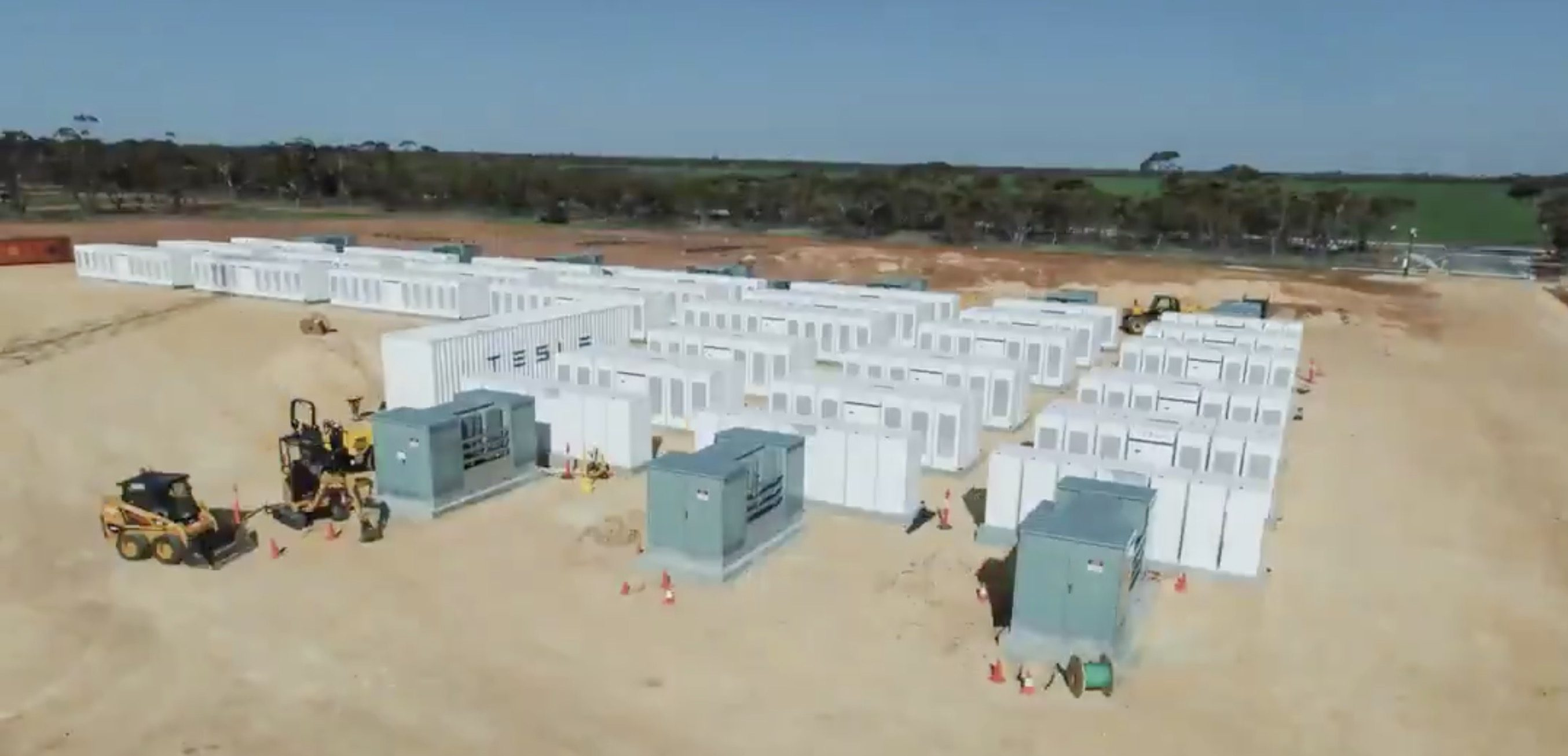 Tesla's new Megapack to debut at giant energy storage project in California
