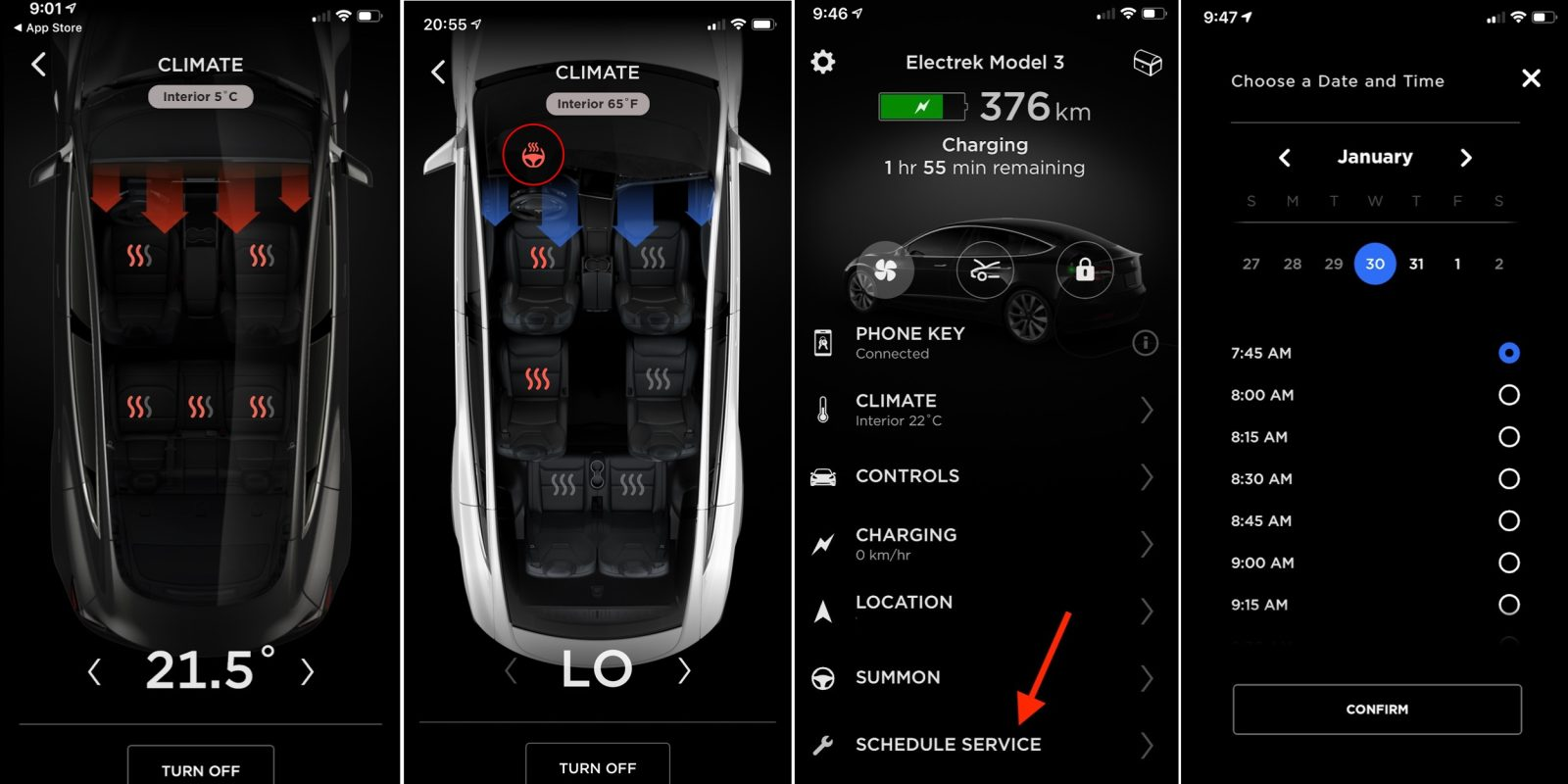 Tesla releases new mobile app update with remote seat