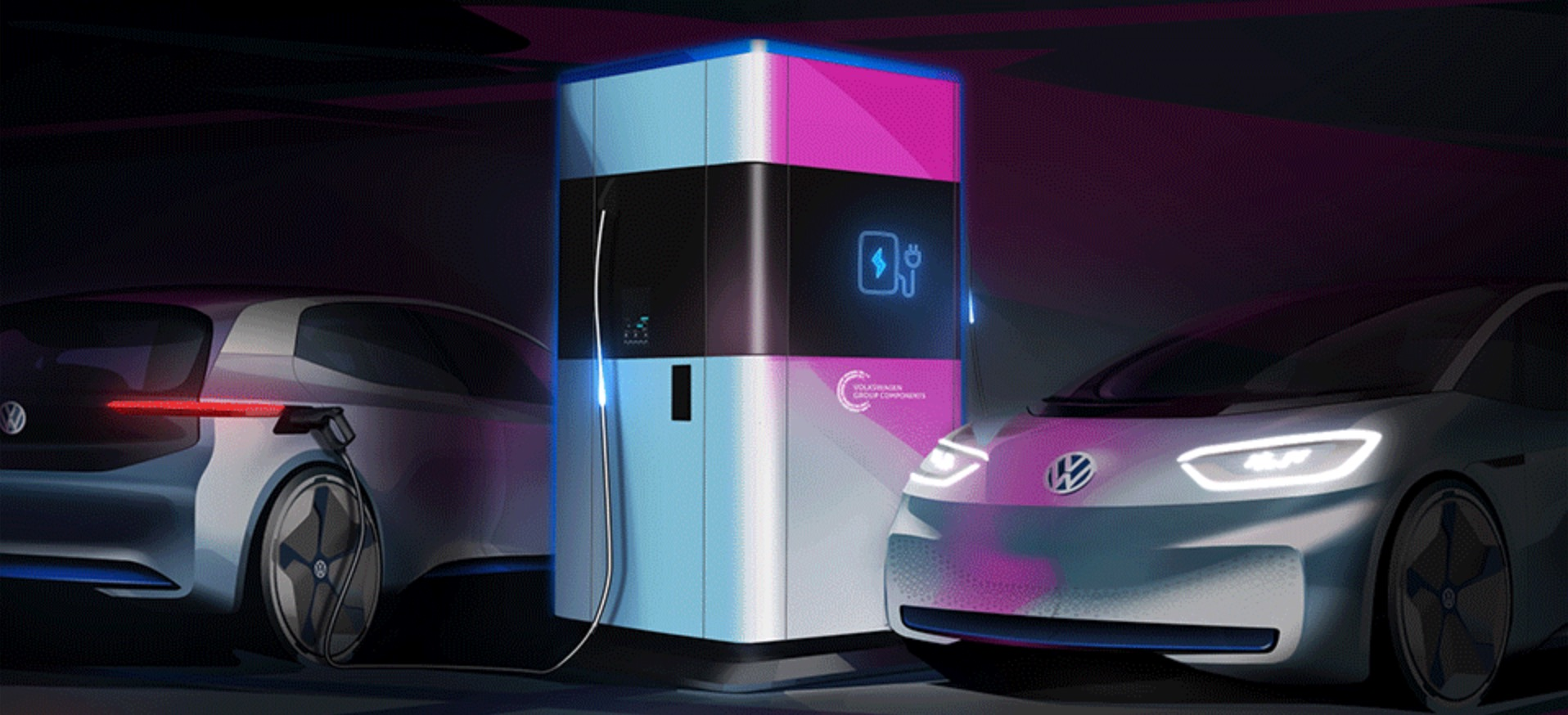 VW announces new mobile charging station with 360 kWh battery pack