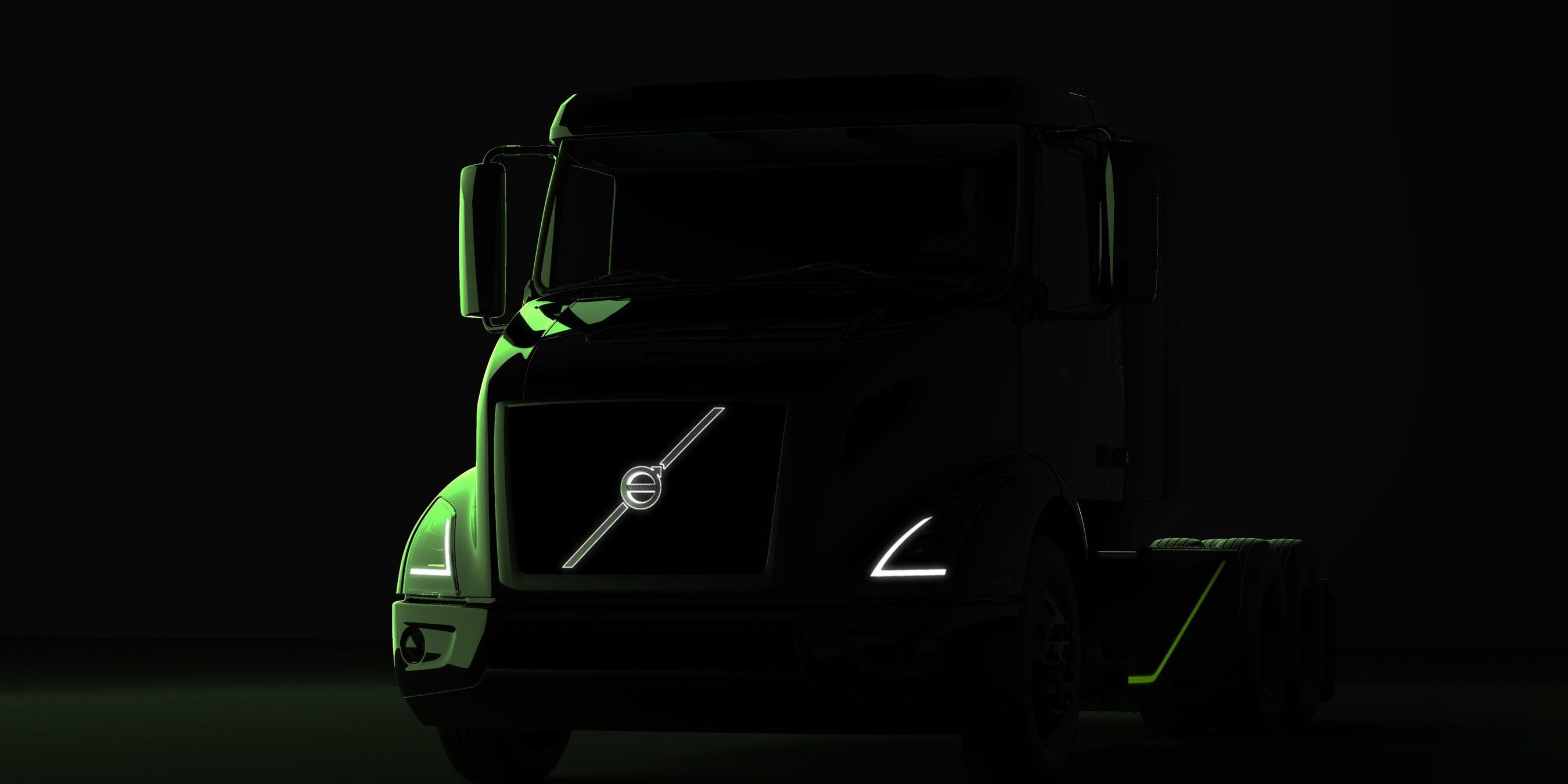 Volvo Trucks teases upcoming new all-electric semi truck