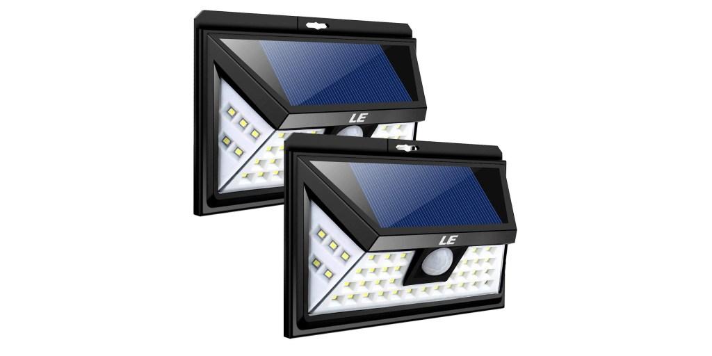 Green Deals 2 Pack Led Solar Outdoor Lights 21 Reg Up To 30