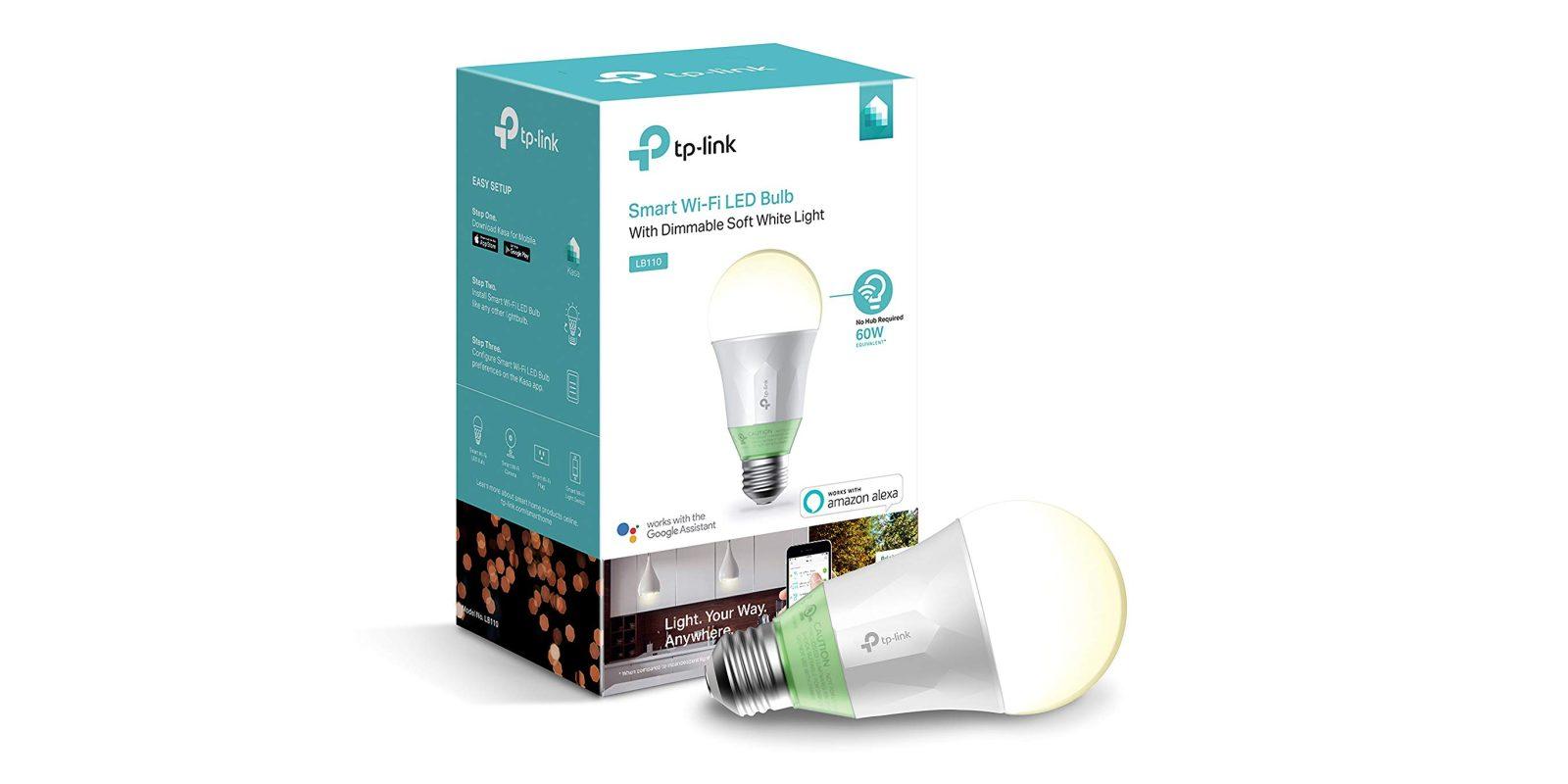 Green Deals: TP-Link Kasa Dimmable Smart LED Light Bulb $14