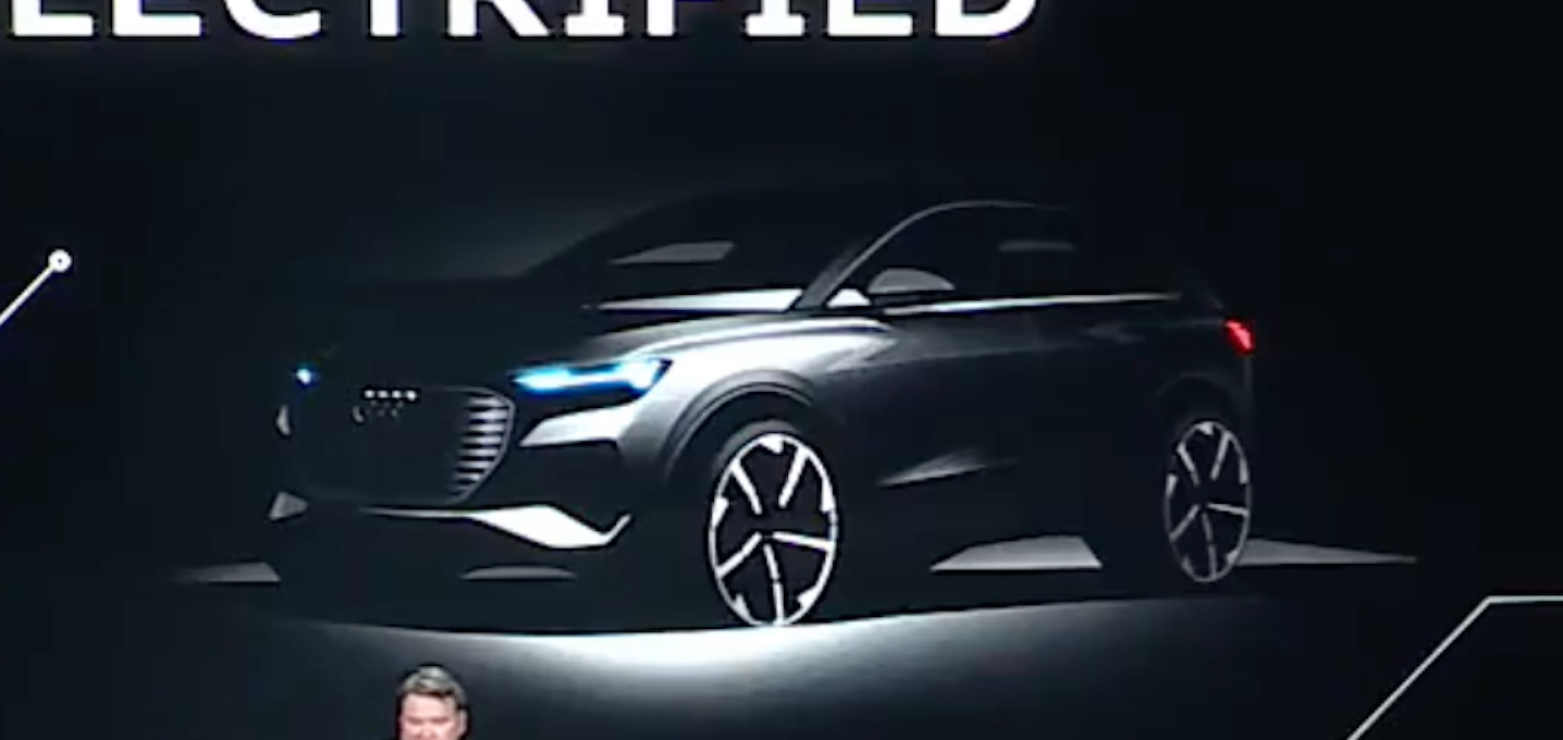 Audi Is Going To Unveil A Small Electric Suv Compete With Tesla Model Y