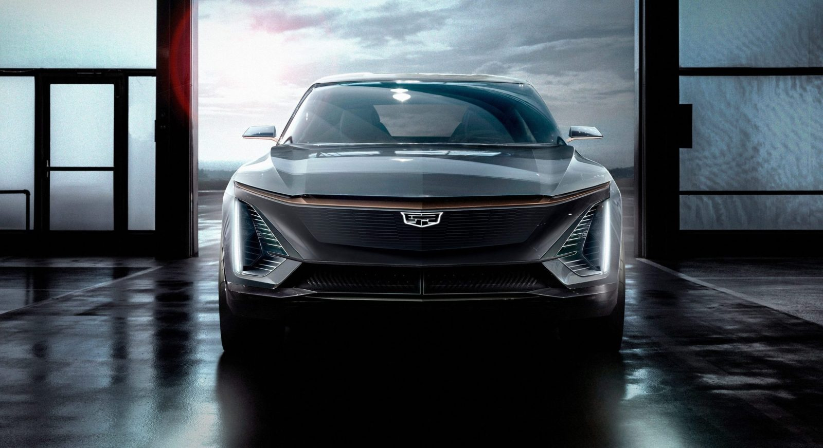 Cadillac reveals images of the brand's first EV, built on ...