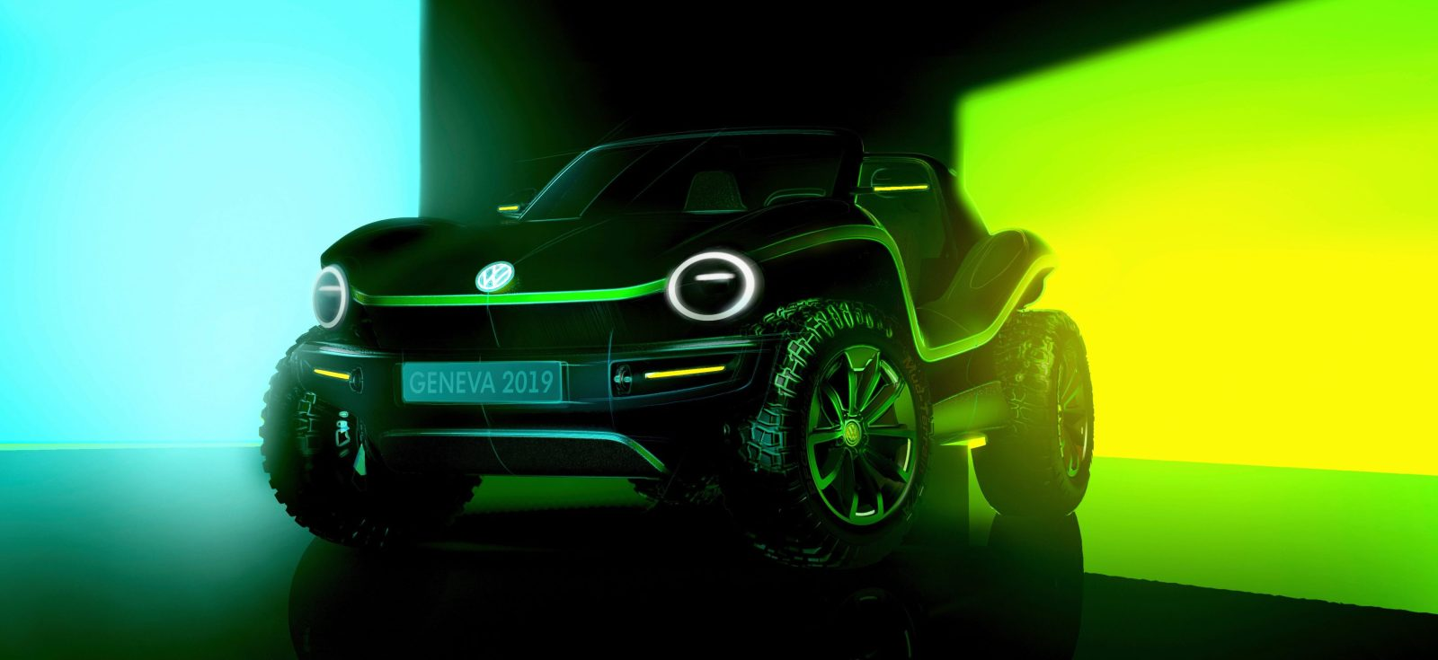VW shares first image of new all-electric dune buggy - Electrek
