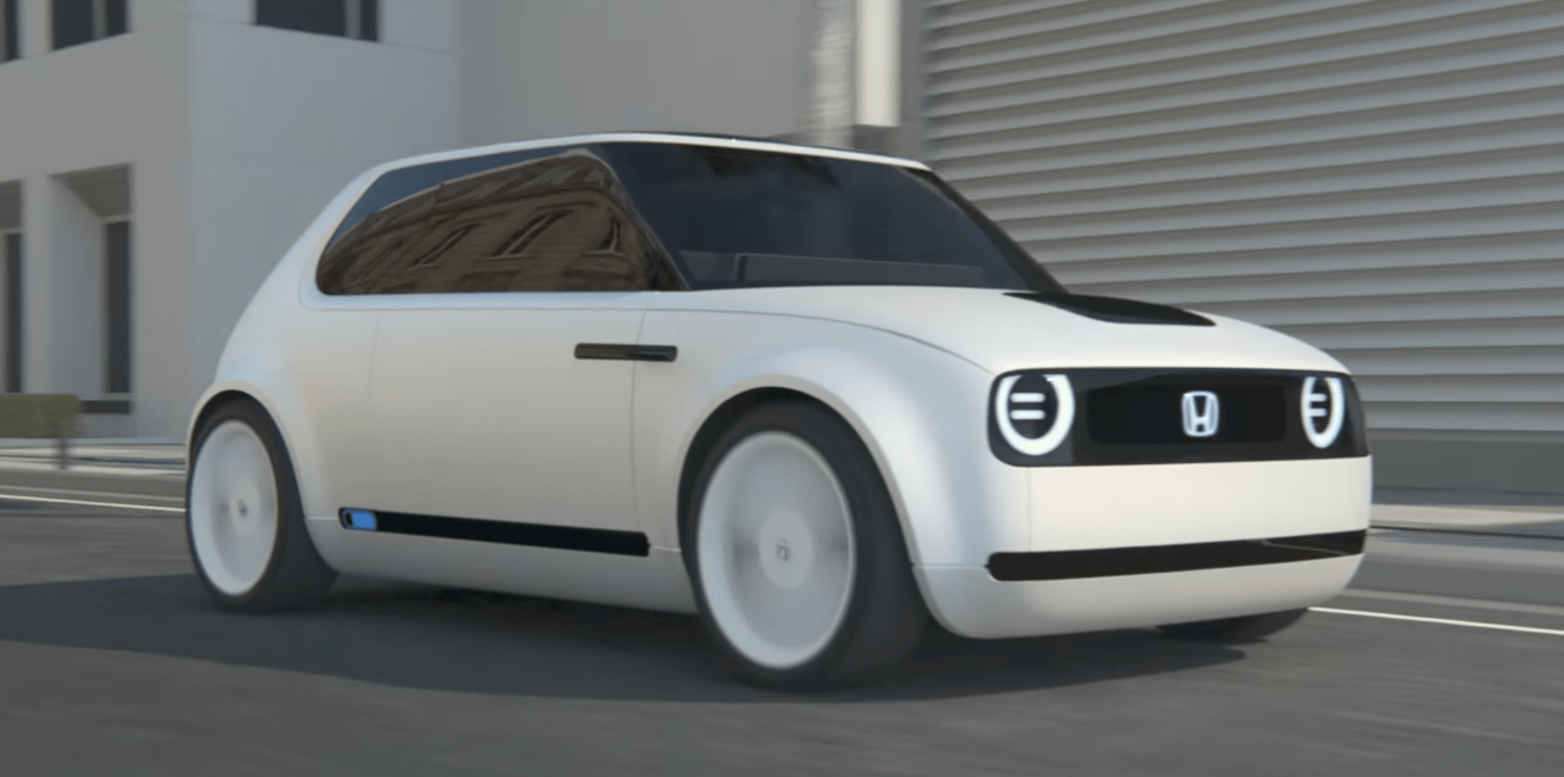 Honda Delays Its Fun Retro Looking All Electric Vehicle To 2020