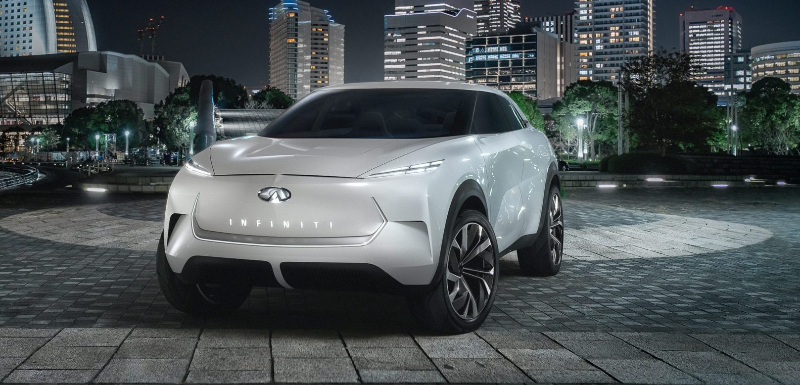 INFINITI unveils the design of its first all-electric SUV ahead of debut