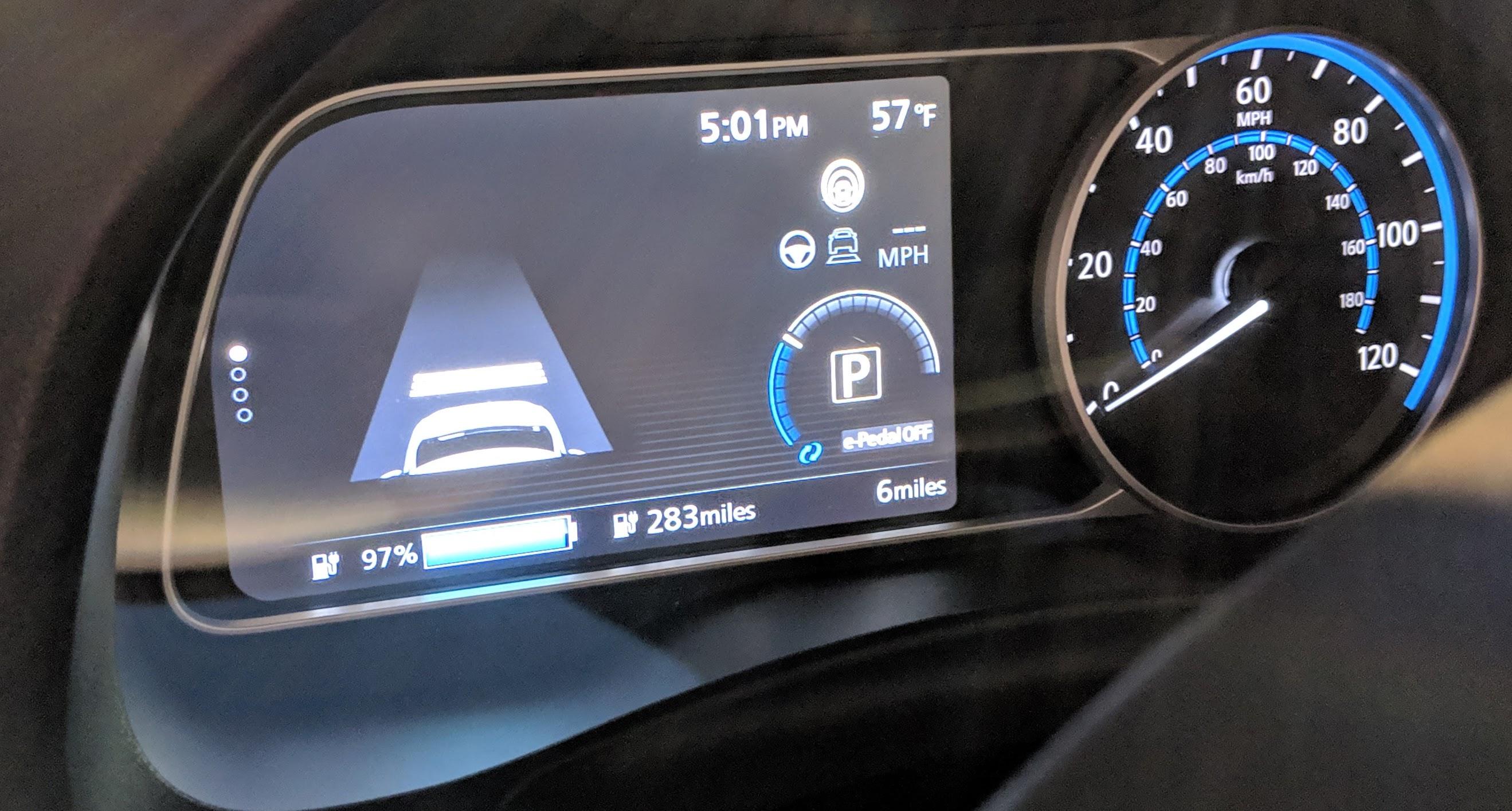 Nissan Leaf Plus Is A Speedy 214hp Hatchback W226 Mile Range Hits