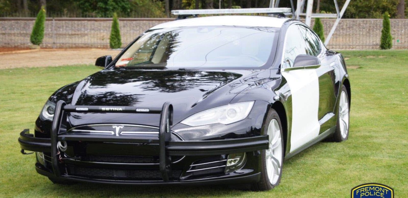 Tesla Model S police patrol vehicle is going to hit the road