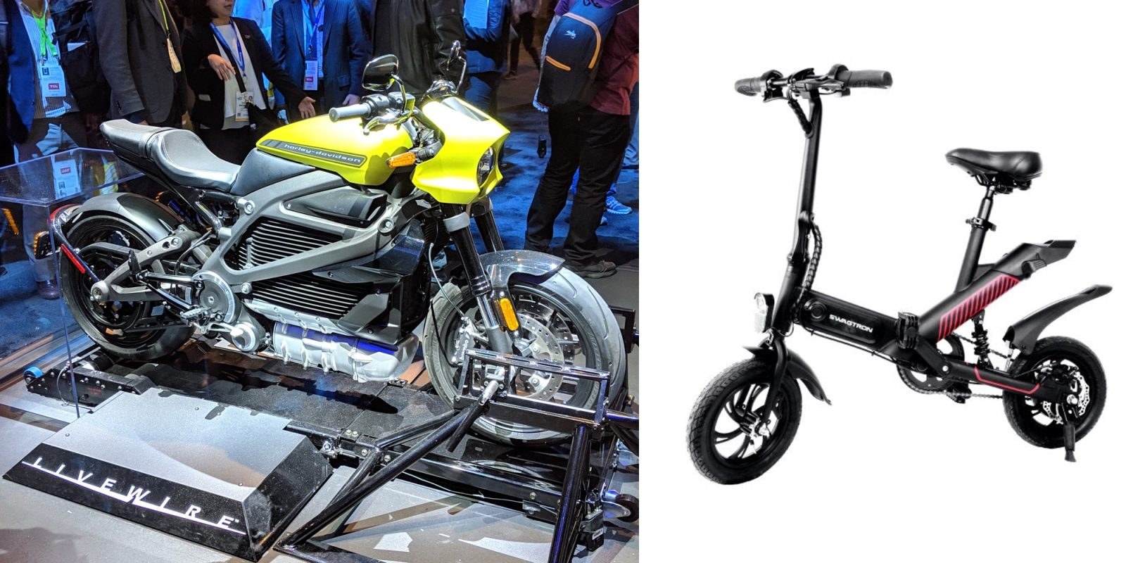 photo of Best of CES: Harley-Davidson Livewire, Swagtron Swagcycle 2 and more image