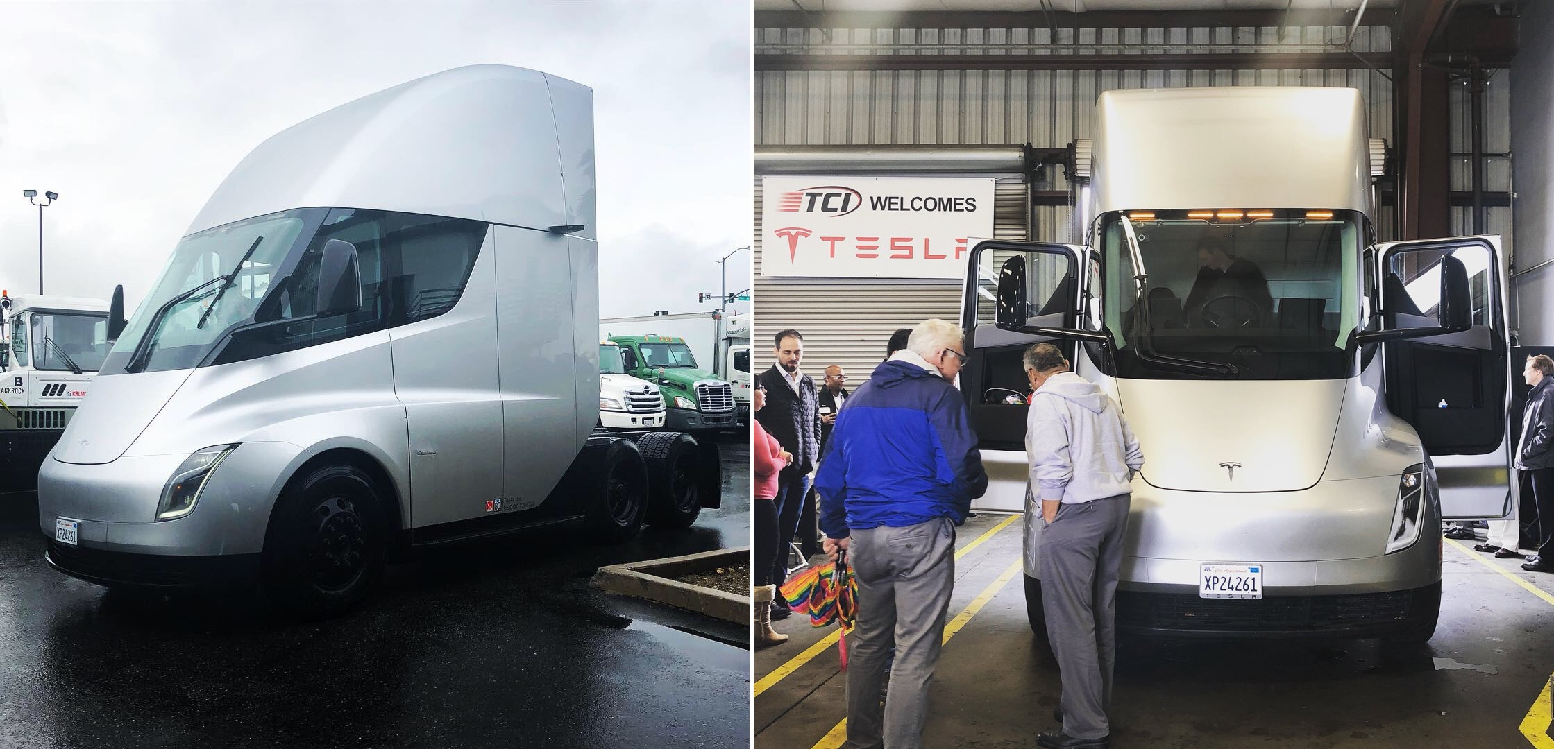 Tesla Semi leasing partner claims to be testing new electric truck prototype