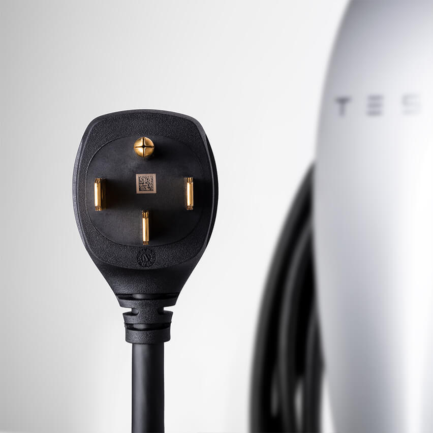 Tesla launches new Wall Connector with NEMA 14-50 plug