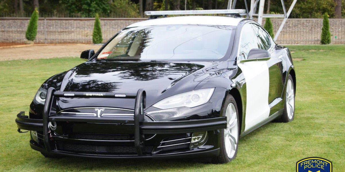 The Police Department Is Curly Modifying Model S To Be Ed With All Required Equipment Tesla Vehicle Fremont