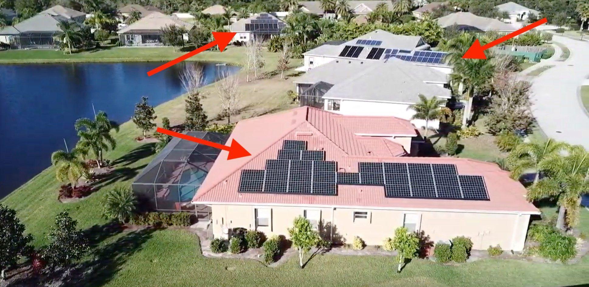 How Tesla is taking over neighborhoods with solar energy