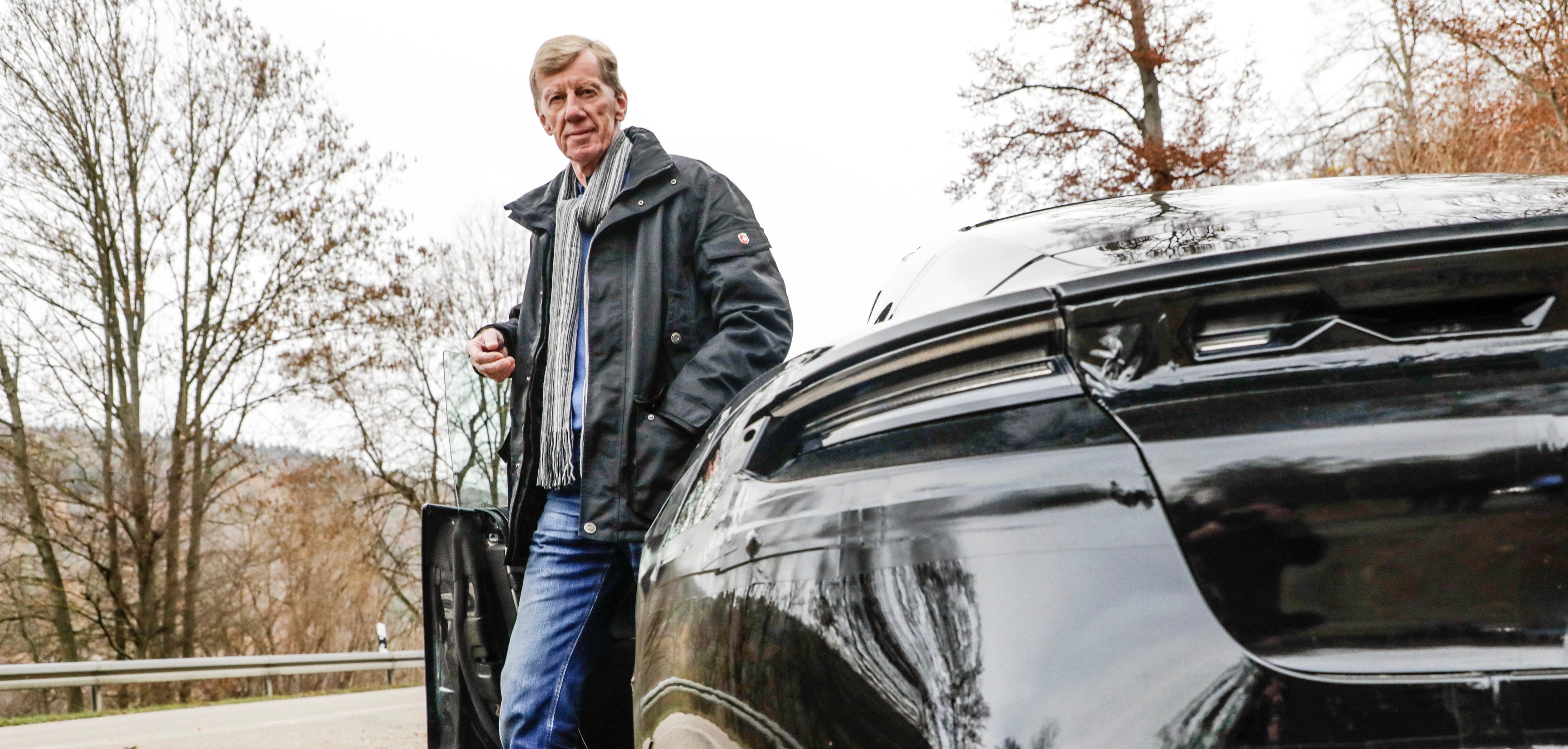 Porsche Taycan is put to the test by rally legend Walter Röhrl