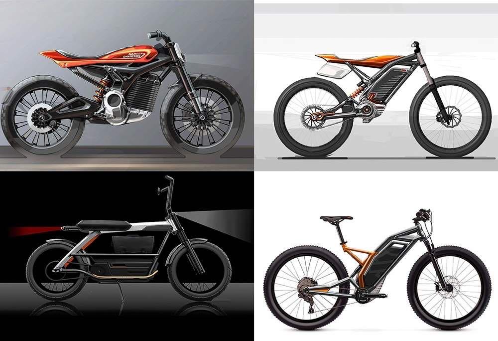 harley-davidson concepts scooter