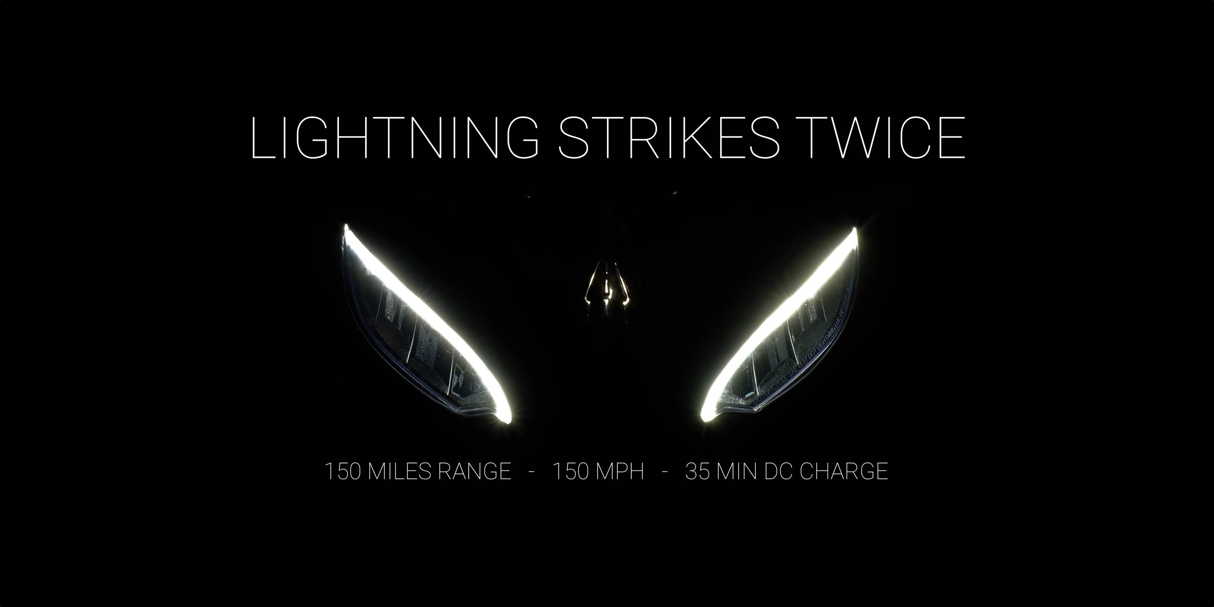 Lightning Strike electric motorcycle capable of charging on Level 1, 2 & 3