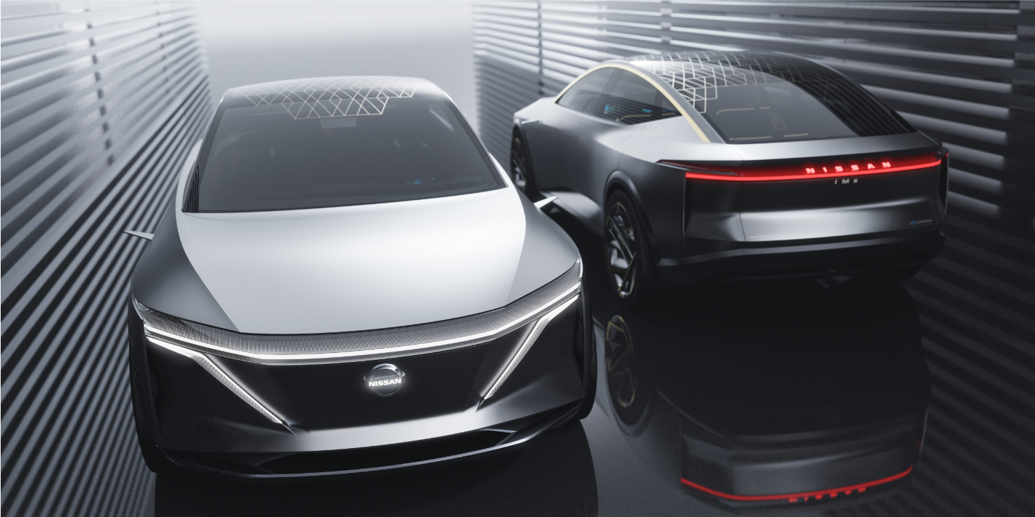 Nissan IMs concept unveiled, elevated sports sedan BEV