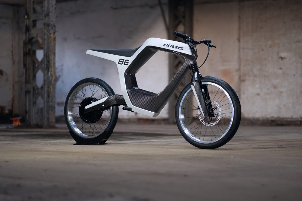 NOVUS unveils impressive-taking a see carbon electrical motorcycle but stuns with impress - Electrek