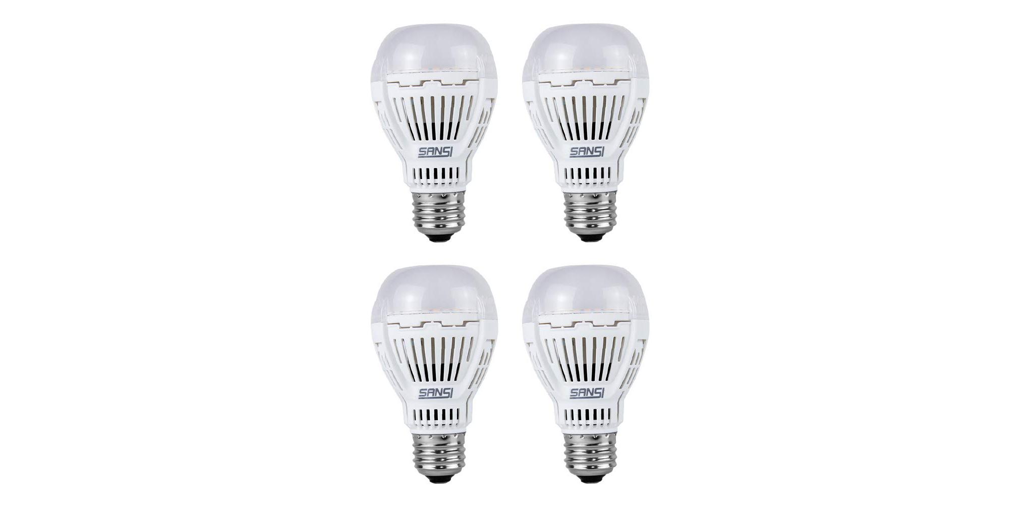 Green Deals: 4-pack 100W A19 LED Light Bulbs $20, more