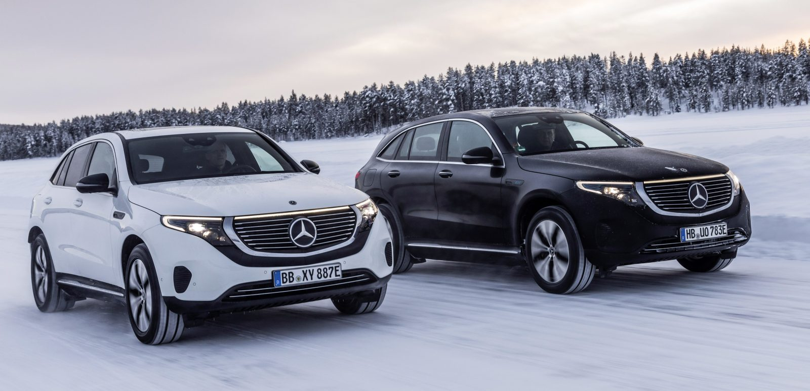 Mercedes Benz Says Eqc Is Still Coming On Time Winter Tests Electric Suv
