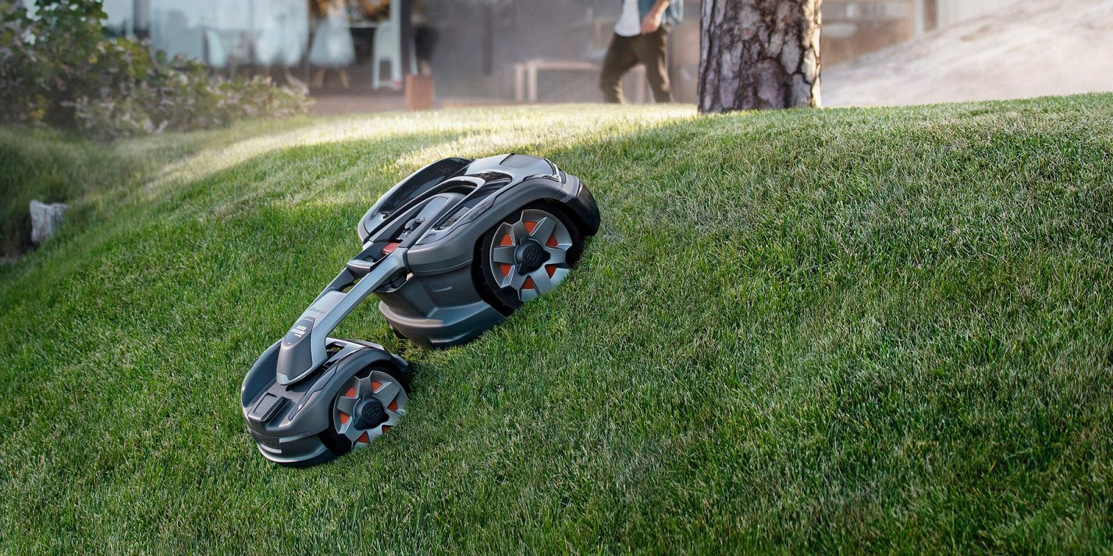 While robotic mowers are not new to the scene e018e7eae