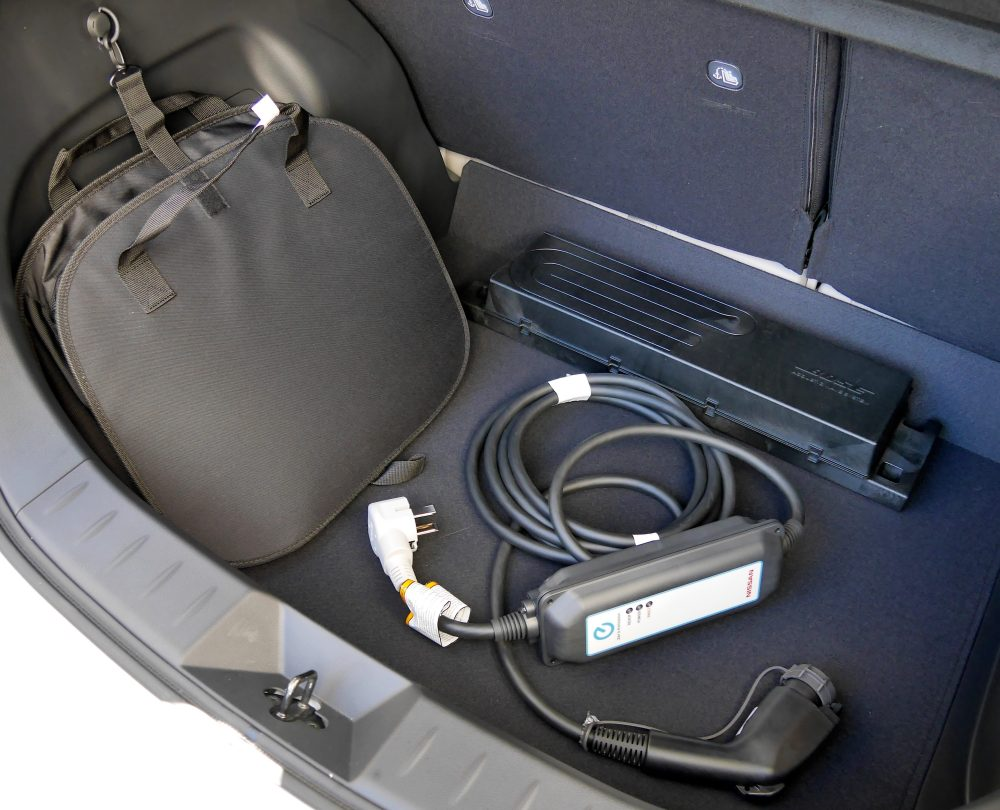 Nissan Leaf Plus portable charging cable