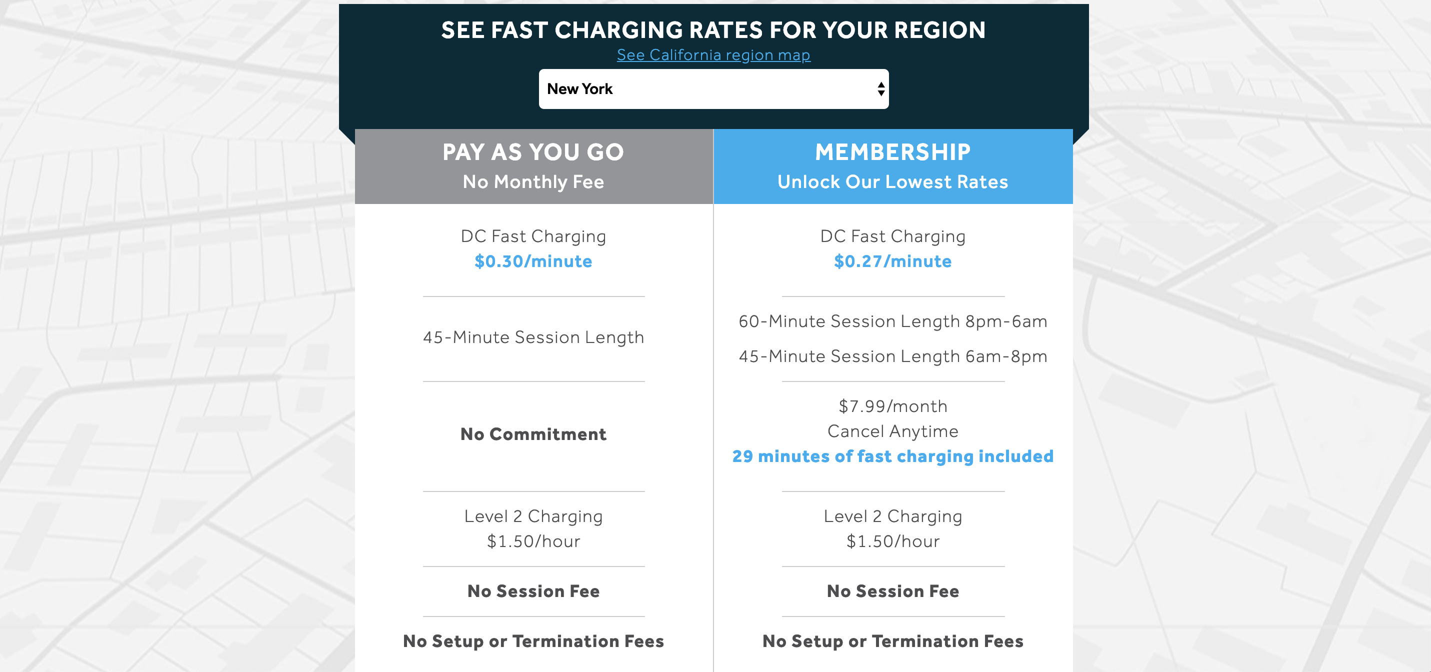 EVgo switches up its DC fast charging prices: Lower monthly payments