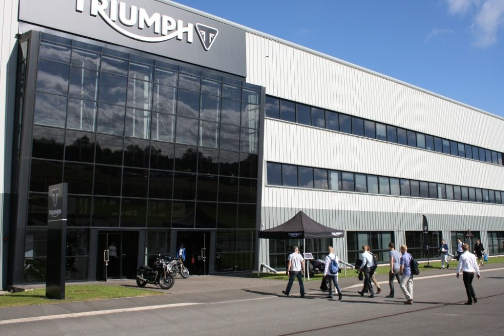 triumph motorcycles headquarters