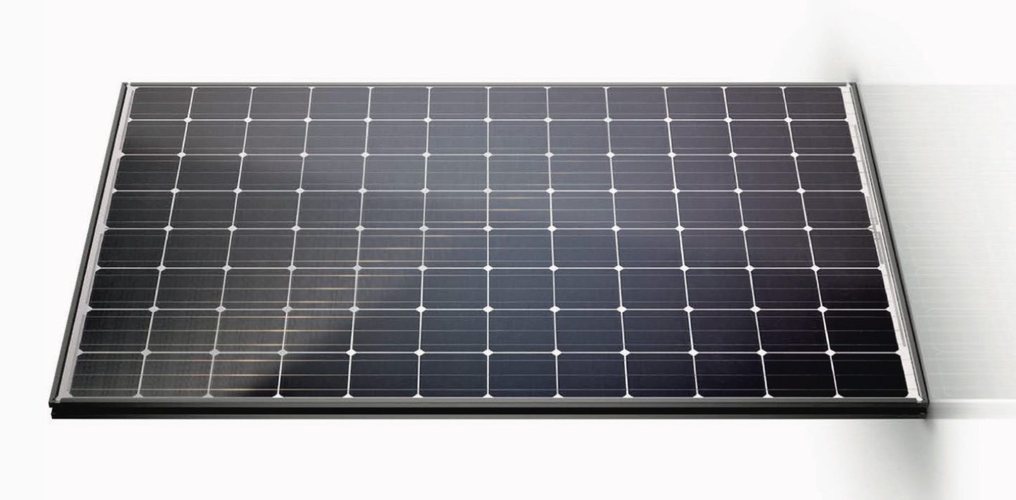First look at Tesla\'s latest solar panel made at Gigafactory ...