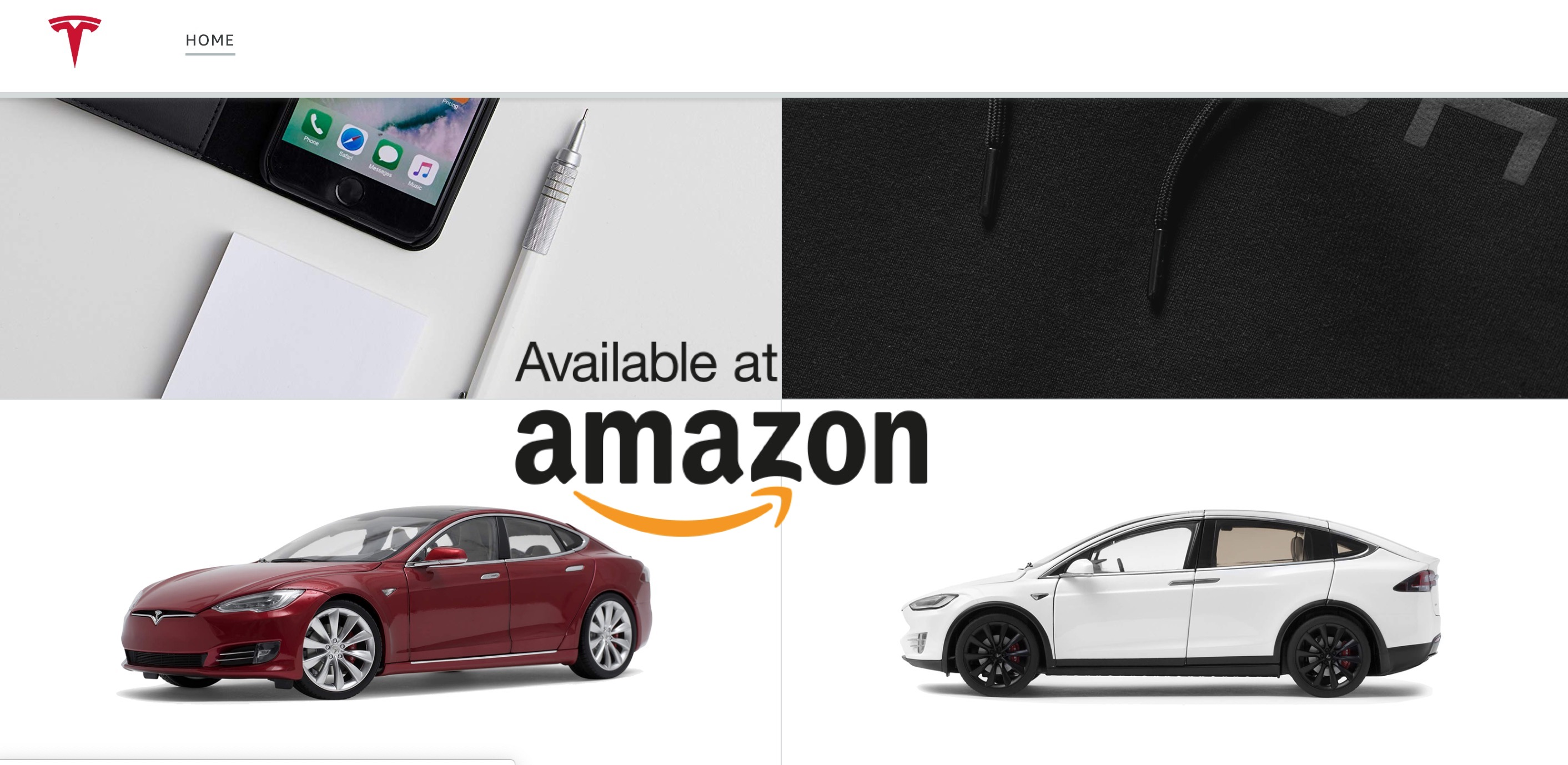 72dd63ac360601 Tesla reopens Amazon store again after weird launch