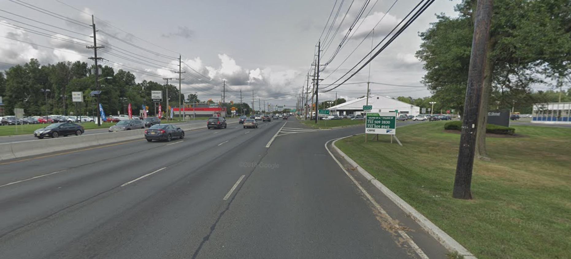 Tesla Autopilot crash google street view