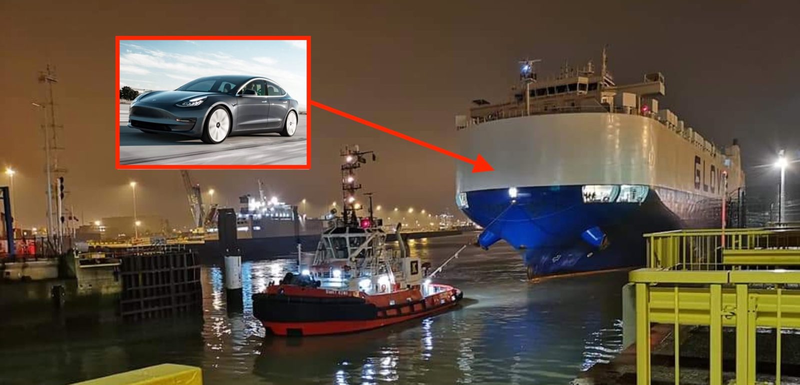Tesla Model 3 comes to Europe with first massive shipment