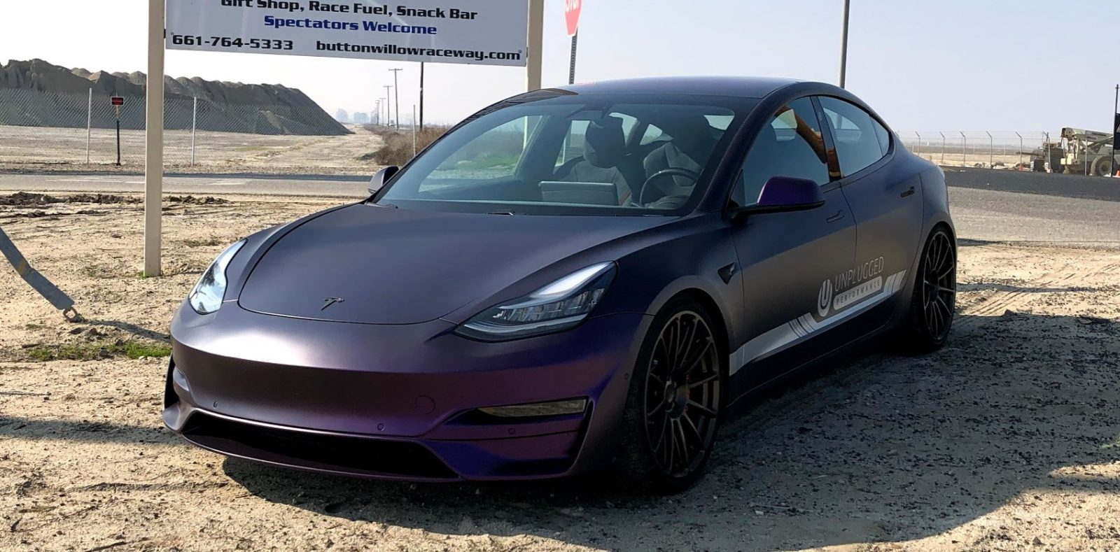 Tesla Model 3 with new aftermarket bumper - love it or hate it