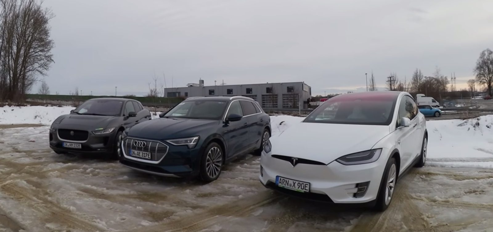 Tesla's incredible efficiency lead is becoming clear with range test against Audi e-tron and Jaguar I-Pace