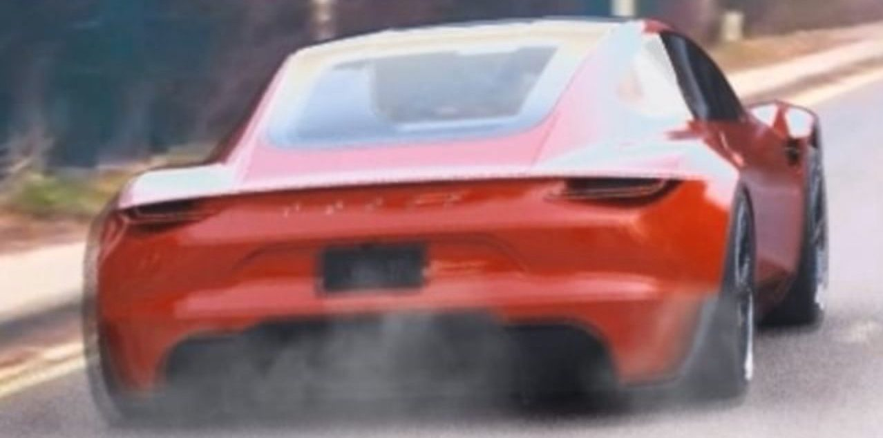 Tesla Roadster Cgi Acceleration Could Be Not Too Far From Reality