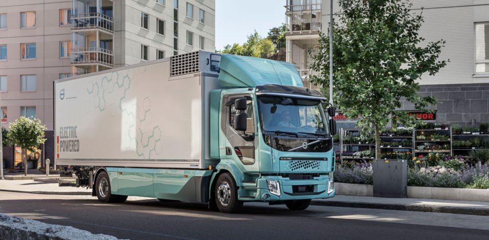 Volvo electric truck FL