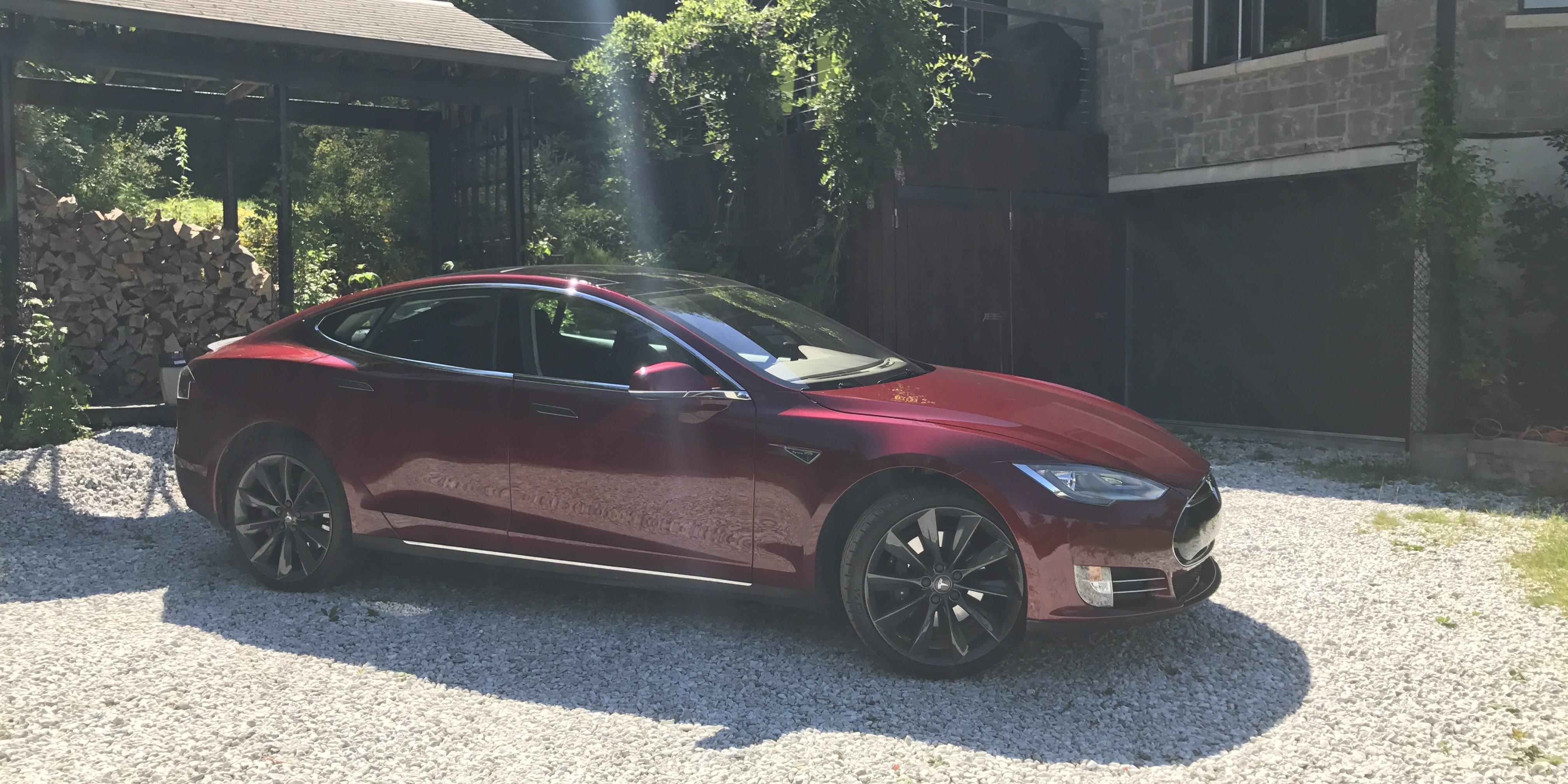 Tesla automobiles for sale