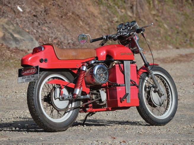 40 years before the LiveWire, engineers built this electric Harley