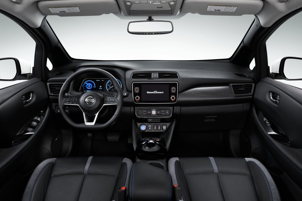 Nissan Leaf Plus interior